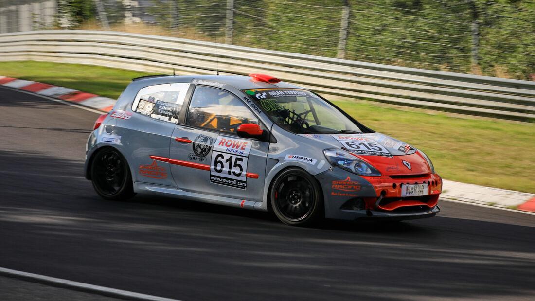 Renault Clio 3 Cup SR - Startnummer #615 - MSC Sinzig e.V. im ADAC - H2 - NLS 2020 - Langstreckenmeisterschaft - Nürburgring - Nordschleife