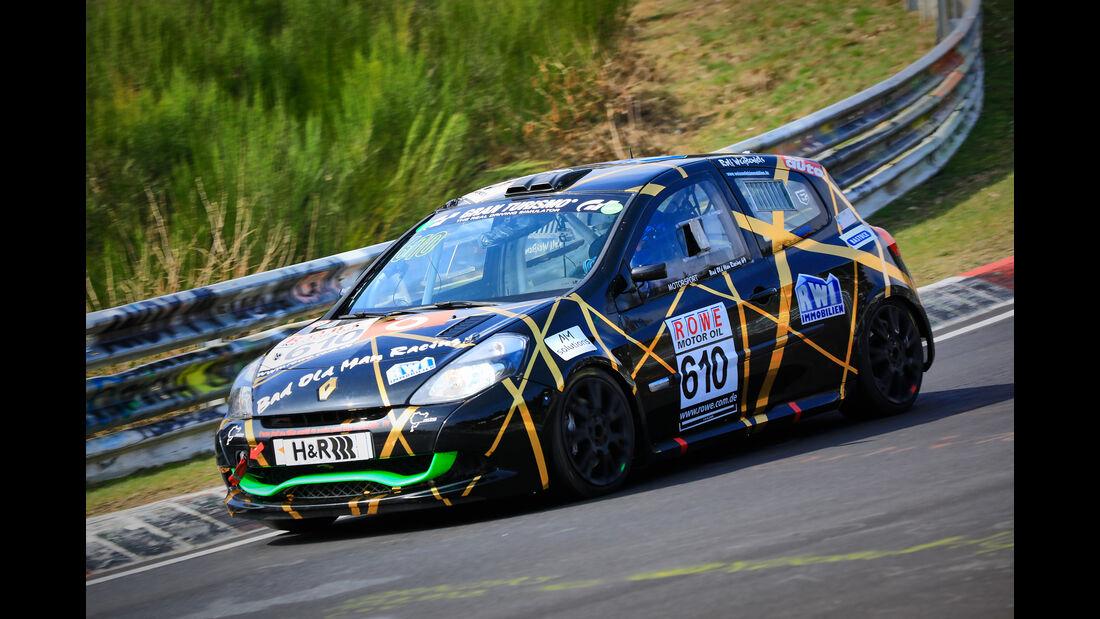 Renault Clio 3 - Startnummer #610 - MSC Sinzig e.V. im ADAC - H2 - VLN 2019 - Langstreckenmeisterschaft - Nürburgring - Nordschleife