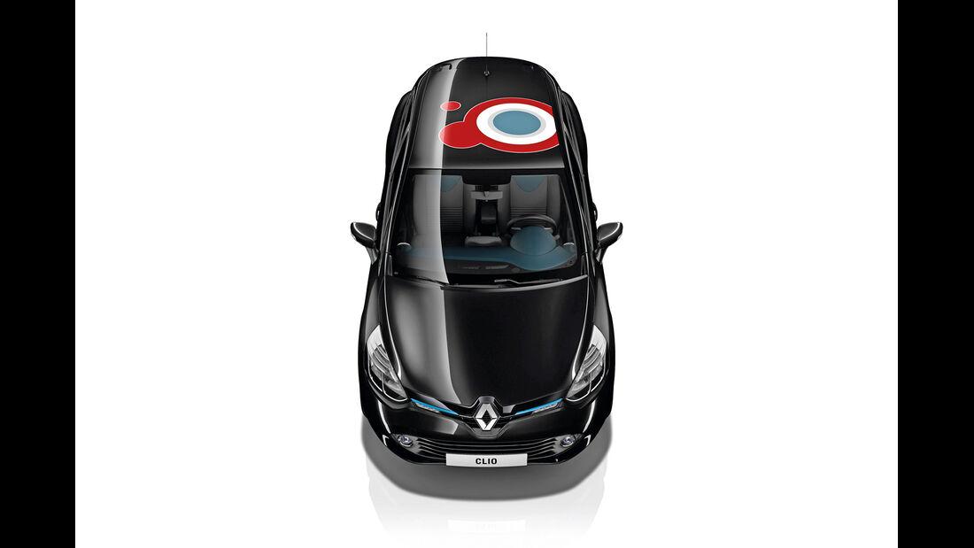 Renault Clio, Aufkleber
