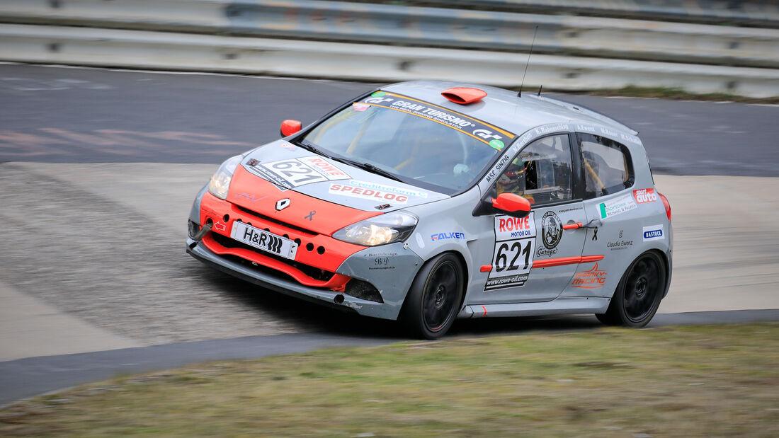 Renault Clio Cup - Startnummer #621 - MSC Sinzig e.V. im ADAC - H2 - NLS 2021 - Langstreckenmeisterschaft - Nürburgring - Nordschleife