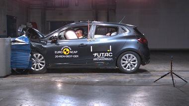 Renault Clio E-Tech Hybrid EuroNCAP Crashtest