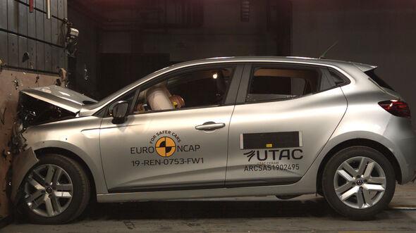 Renault Clio EuroNCAP-Crashtest