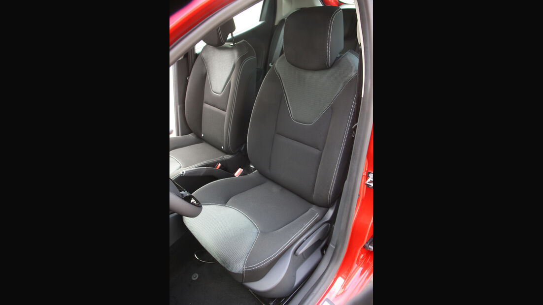Renault Clio, Fahrersitz