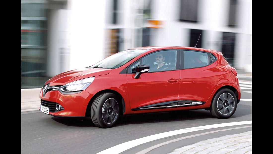 Renault Clio, Frontansicht