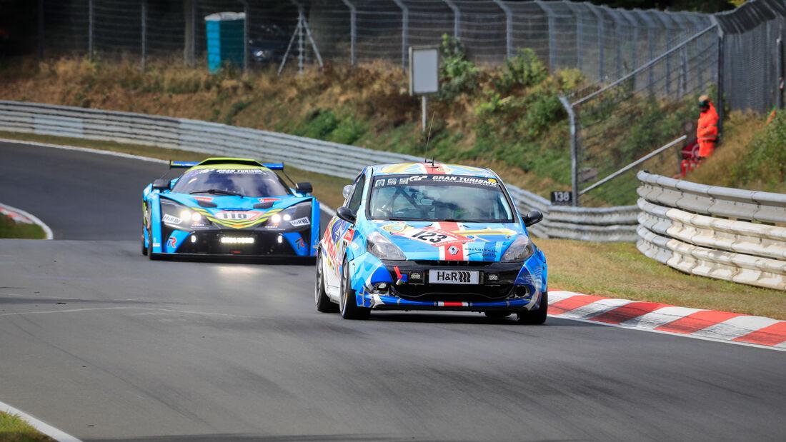 Renault Clio - Goedicke/Sesterheim Racing - Startnummer #123 - 24h-Rennen - Nürburgring - Nordschleife - Donnerstag - 24. September 2020