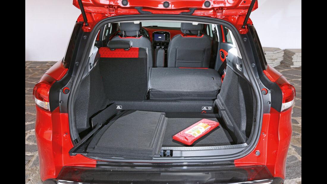 Renault Clio Grandtour, Kofferraum, Ladefläche