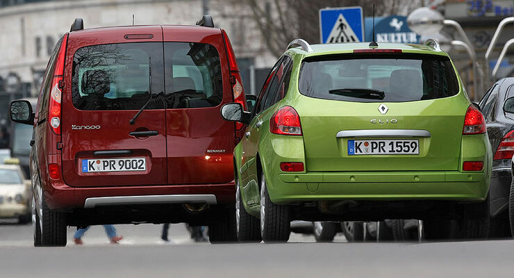 Renault Clio Grandtour, Renault Kangoo