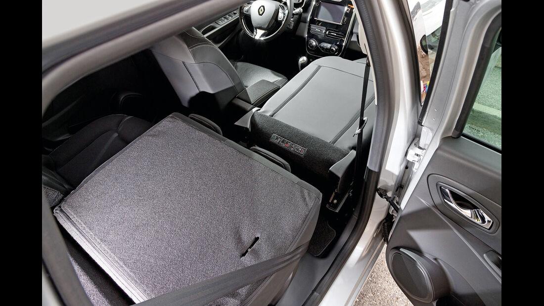 Renault Clio Grandtour, Sitze, Umklappen