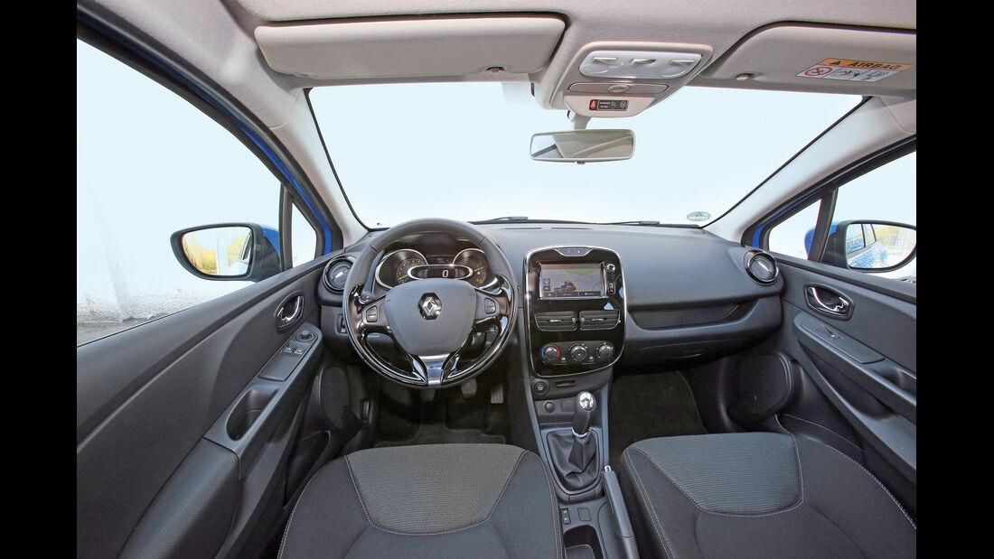 Renault Clio Grandtour TCe 90 Dynamique, Cockpit, Lenkrad