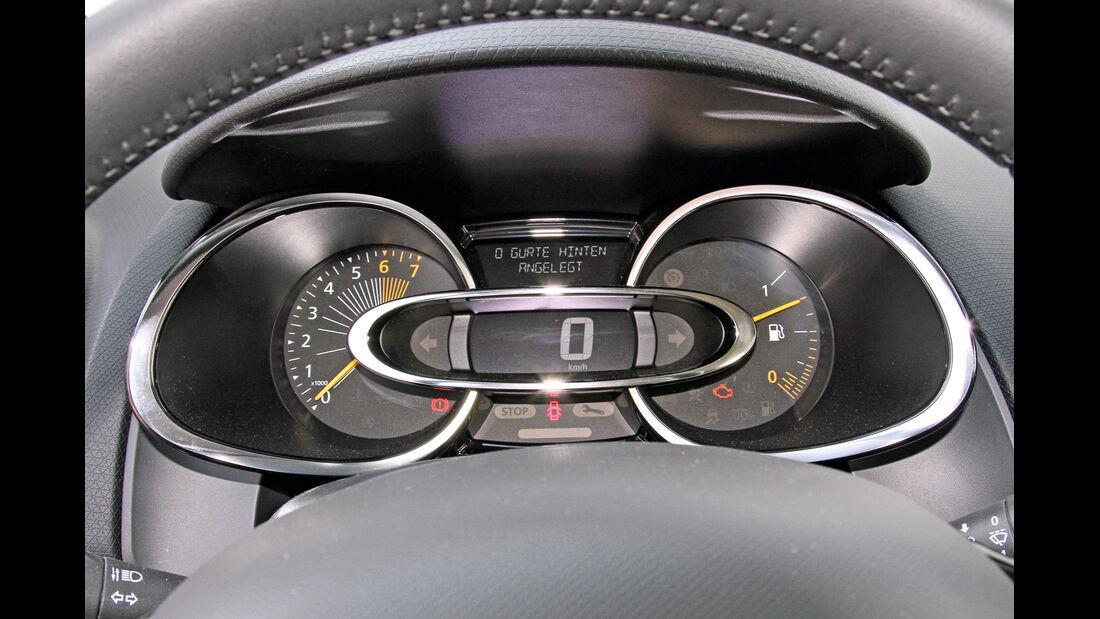 Renault Clio Grandtour TCe 90 Dynamique, Rundinstrumente