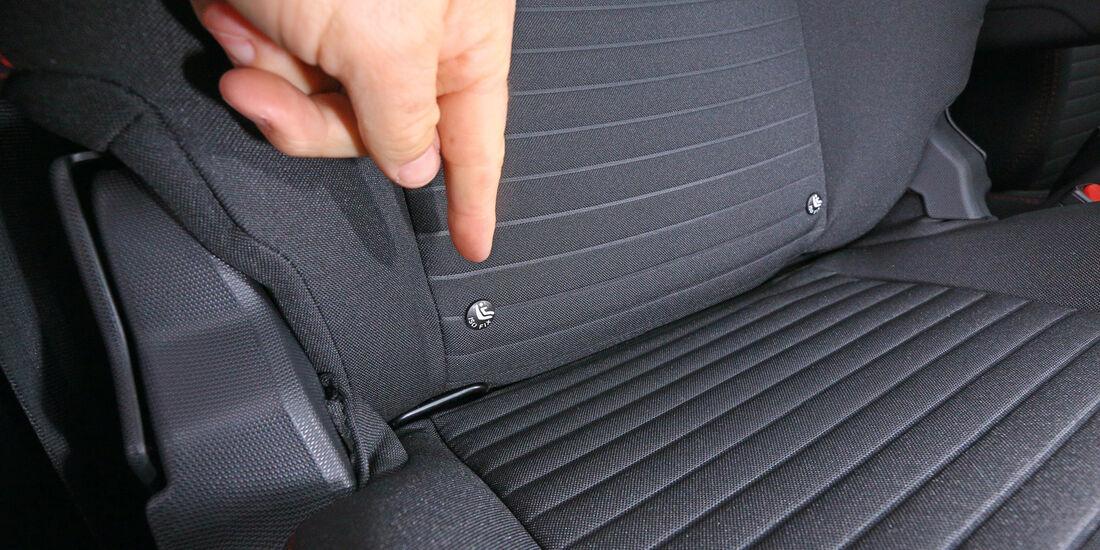 Renault Clio Grandtour dci 90, Isofix-Kindersitz