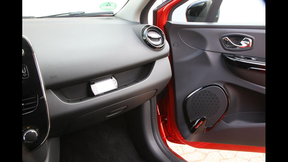 Renault Clio, Handschuhfach