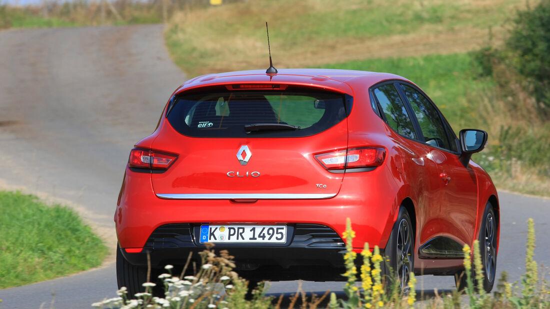 Renault Clio, Heckansicht