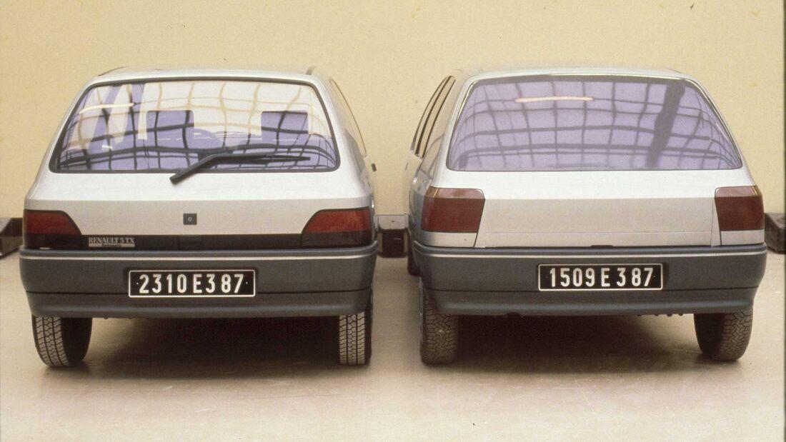 Renault Clio I Designstudie Mock up