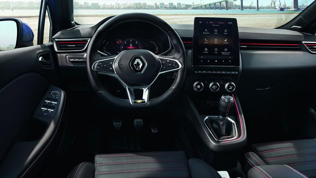 Renault Clio Innenraum Cockpit