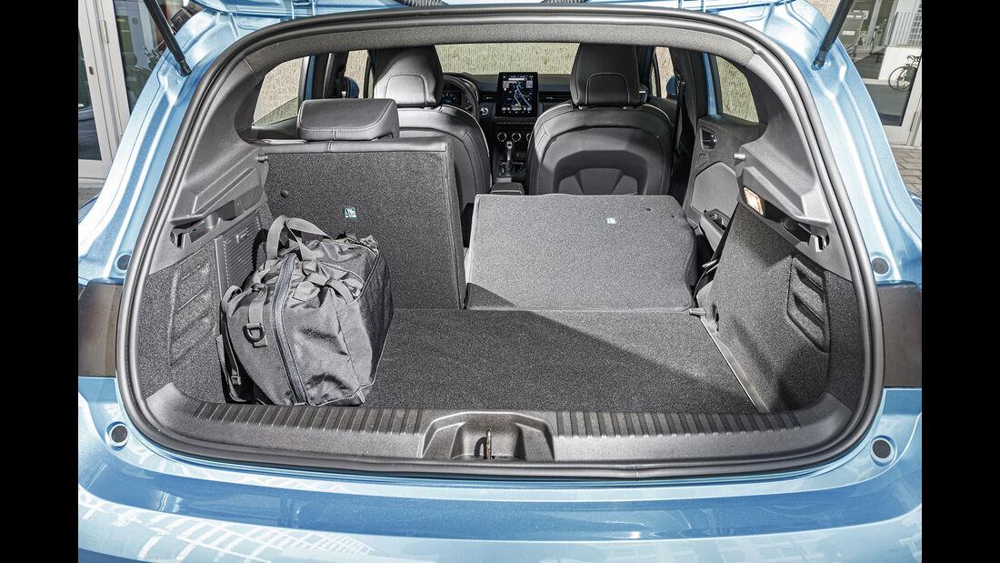 Renault Clio, Kofferraum