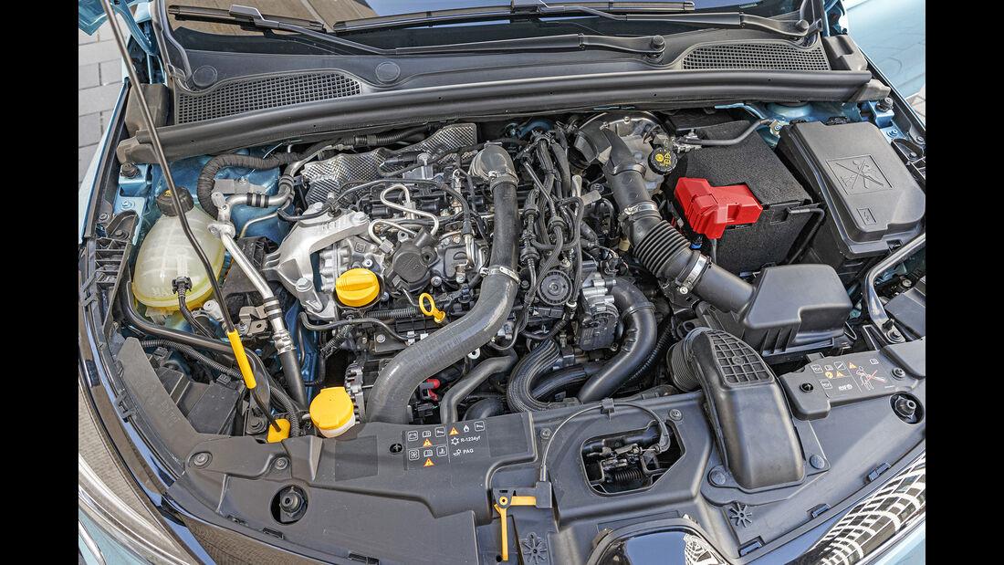 Renault Clio, Motorraum
