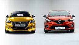 Renault Clio Peugeot 208 Vergleich