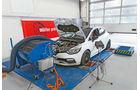 Renault Clio R.S. 220 Trophy, Leistungsmessung, Teststand