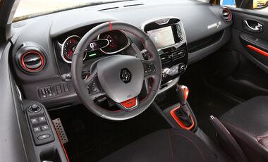 Renault Clio R.S., Cockpit, Lenkrad