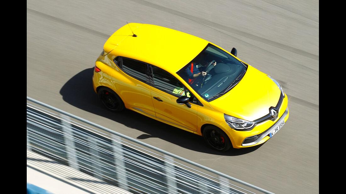 Renault Clio R.S, Draufsicht