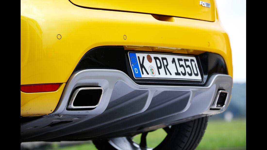 Renault Clio R.S., Endrohr, Auspuff