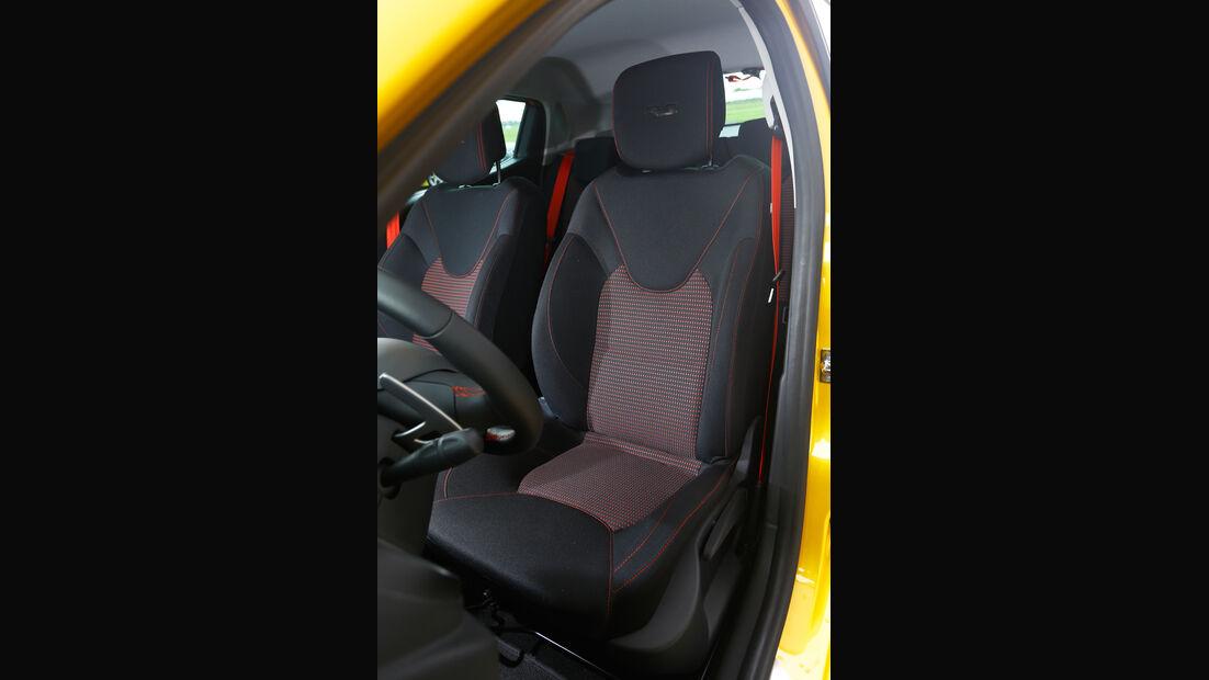 Renault Clio R.S., Fahrersitz