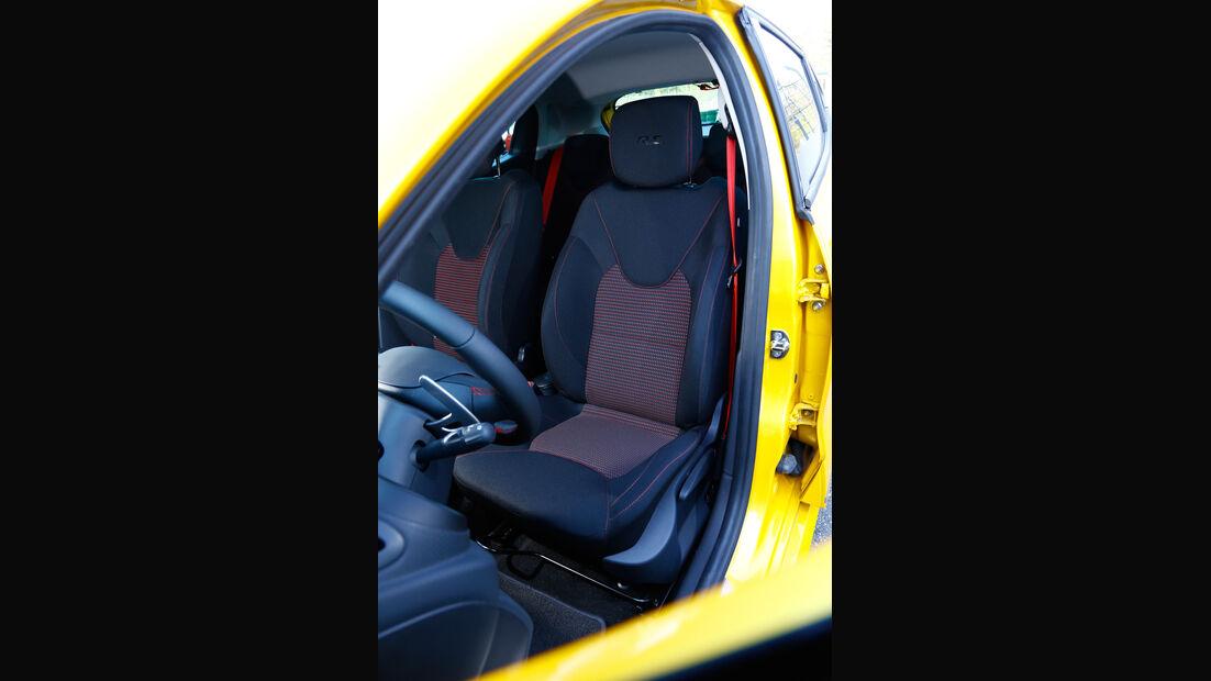 Renault Clio R.S, Fahrersitz