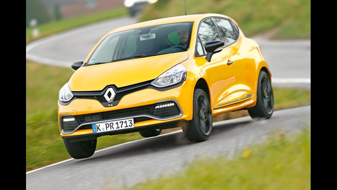 Renault Clio R.S., Frontansicht