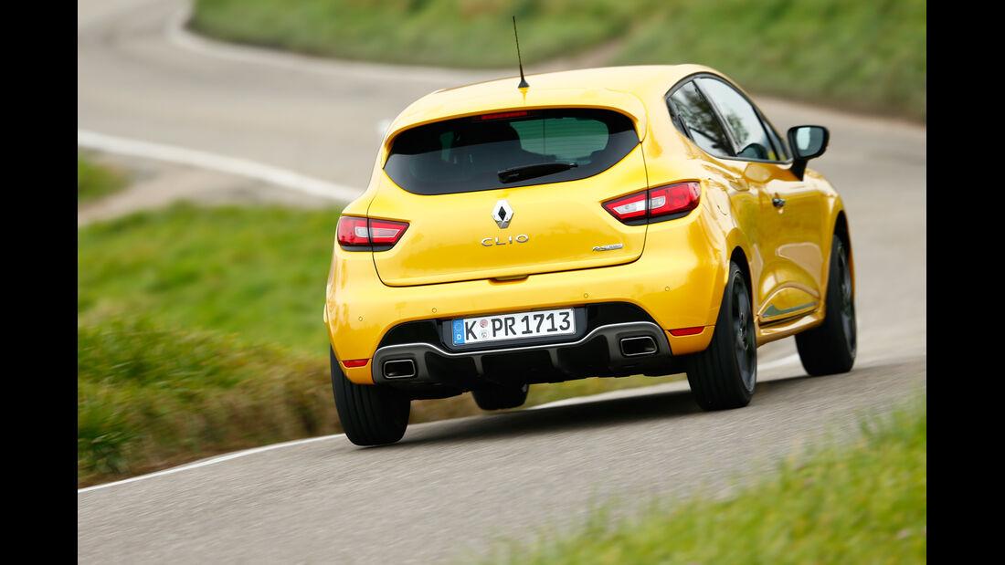 Renault Clio R.S., Heckansicht