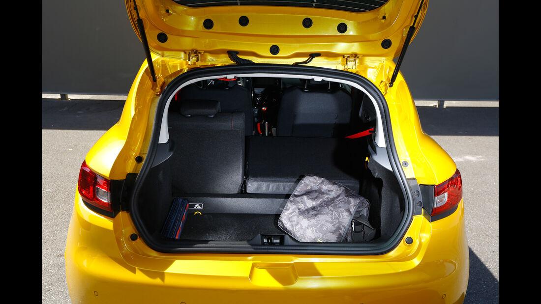 Renault Clio R.S, Kofferraum