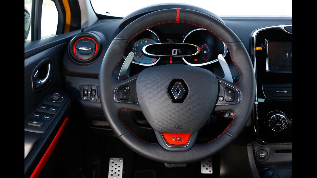 Renault Clio R.S, Lenkrad