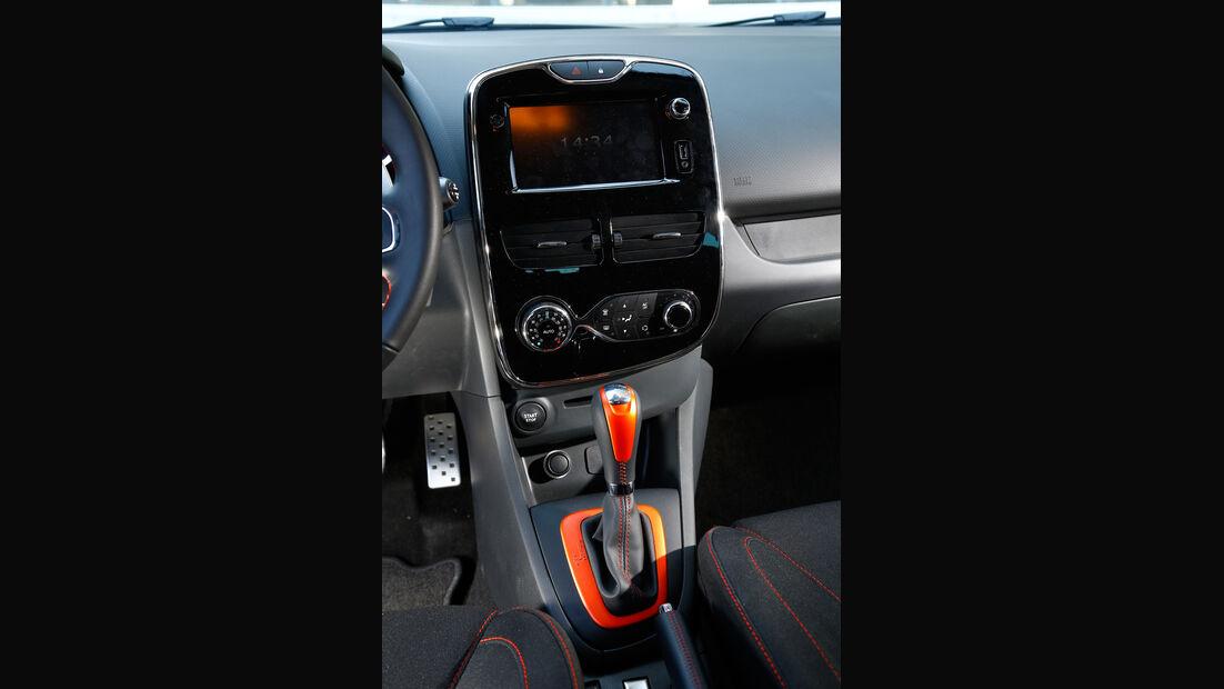 Renault Clio R.S, Mittelkonsole