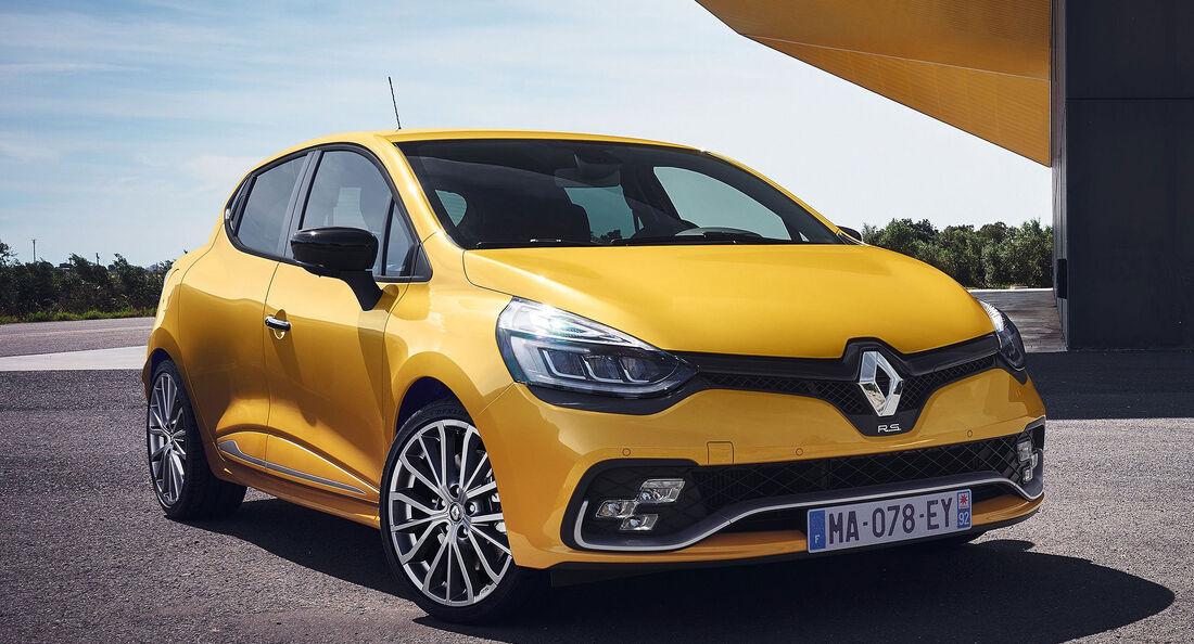 Renault Clio R.S. Modellpflege 2016