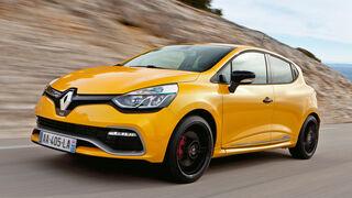 Renault Clio R.S., Seitenansicht