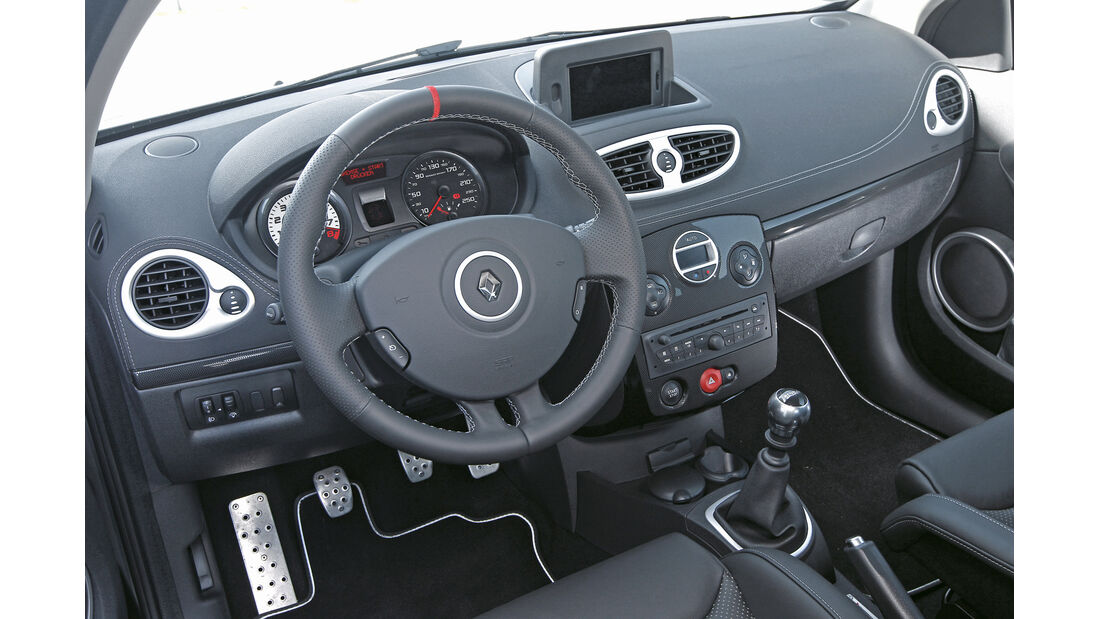 "Renault Clio R.S. ""sport auto Edition"", Cockpit"