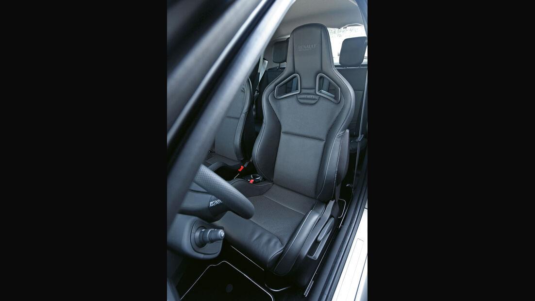 "Renault Clio R.S. ""sport auto Edition"", Fahrersitz"