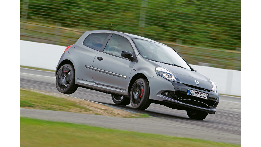 "Renault Clio R.S. ""sport auto Edition"", Frontansicht"