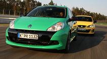 Renault Clio RS Cup, Seat Ibiza Cupra