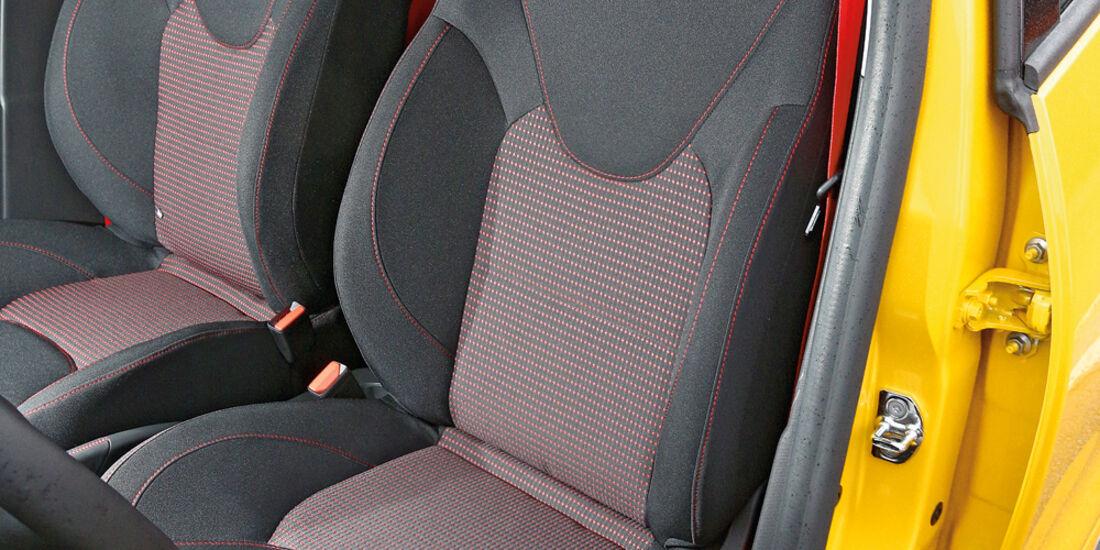 Renault Clio RS, Fahrersitz