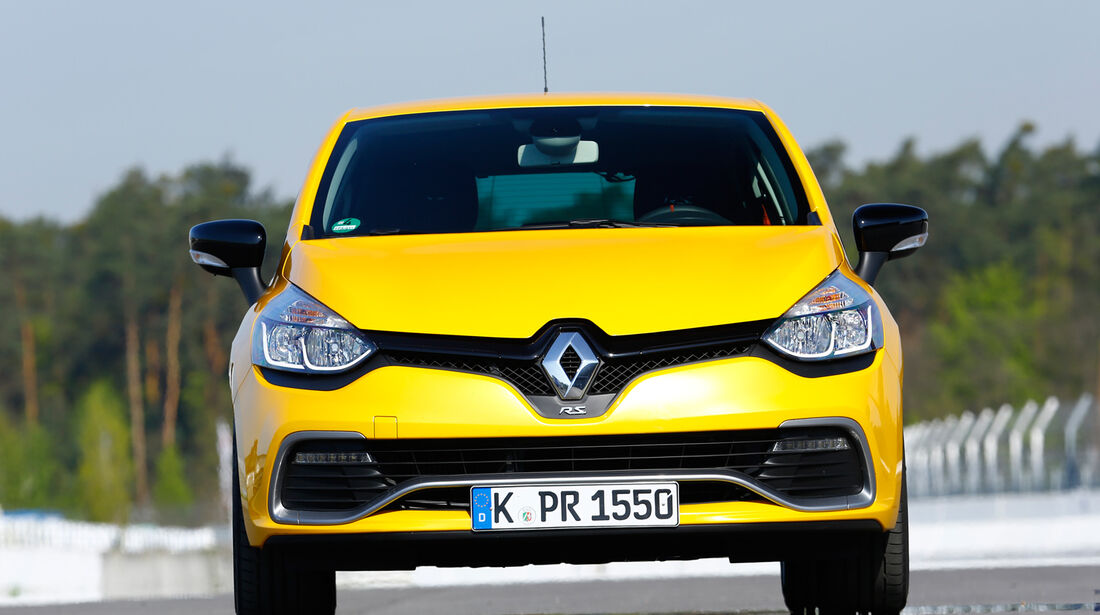 Renault Clio RS, Frontansicht