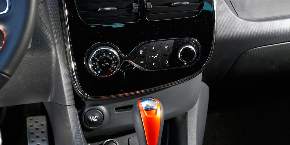 Renault Clio RS, Mittelkonsole