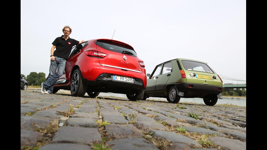 Renault Clio, Renault R5 GTL, Heckansicht