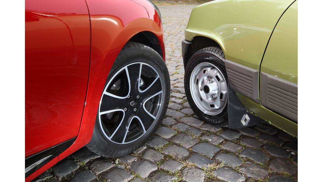Renault Clio, Renault R5 GTL, Rad, Felge