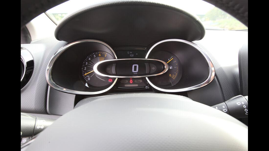 Renault Clio, Rundinstrumente
