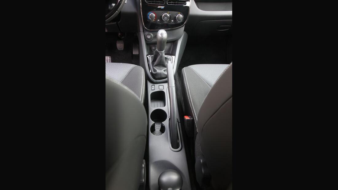 Renault Clio, Schalthebel, Schaltknauf
