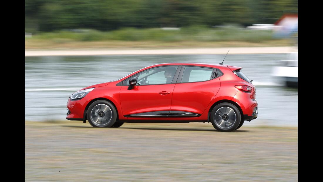 Renault Clio, Seitenansicht