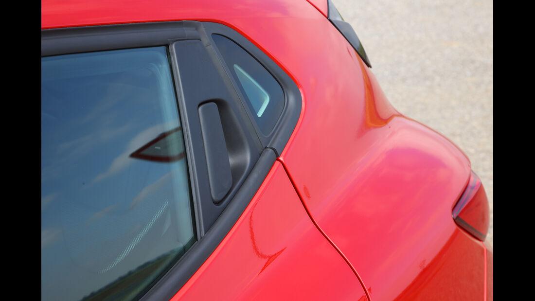 Renault Clio, Seitenfenster