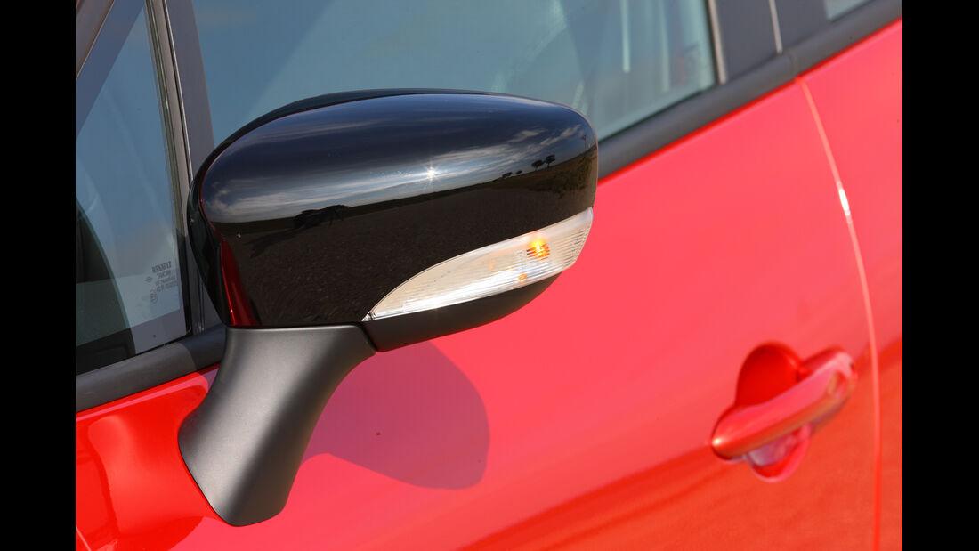 Renault Clio, Seitenspiegel