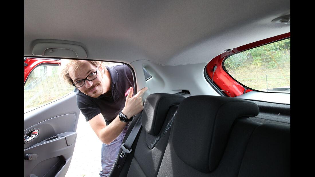 Renault Clio, Seitentür